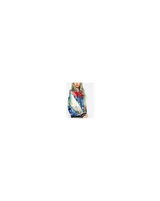 Куртка-Пилот С Эффектом Омбре Мульти Asos                                                                                                              многоцветный цвет