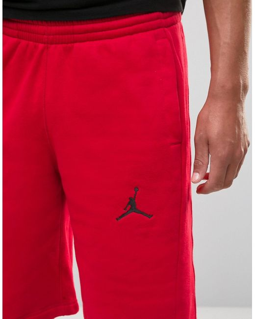 Шорты Nike 824020-687 Jordan                                                                                                              красный цвет