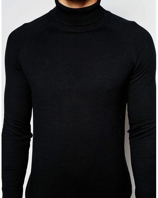 Водолазка Selected Homme                                                                                                              чёрный цвет