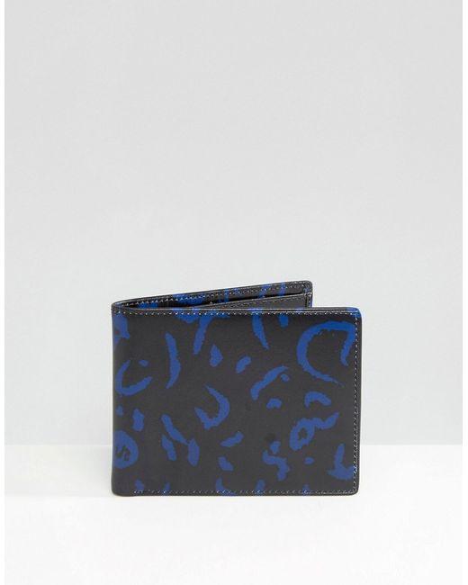 Синий Бумажник Черный Smith And Canova                                                                                                              чёрный цвет