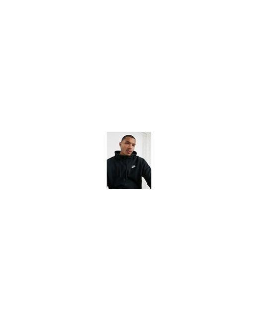 Черное Худи Club 804389-010 Черный Nike                                                                                                              чёрный цвет
