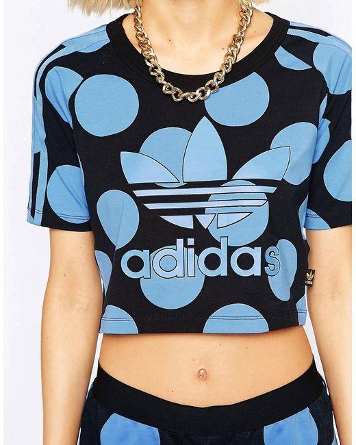 Pharrell Dear Baes Crop T-Shirt Adidas                                                                                                              None цвет