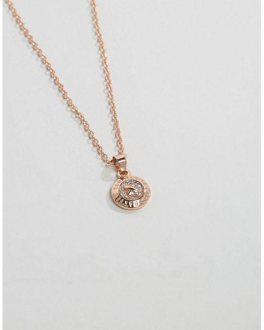 Золотистое Ожерелье С Подвеской Ted Baker                                                                                                              золотой цвет