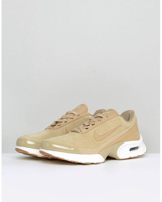 dcc0d160 Женские Коричневые Замшевые Кроссовки Air Max Jewell Nike 6210867