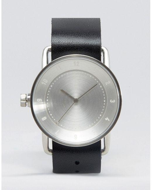 Часы С Кожаным Ремешком No 2 Черный TID                                                                                                              чёрный цвет