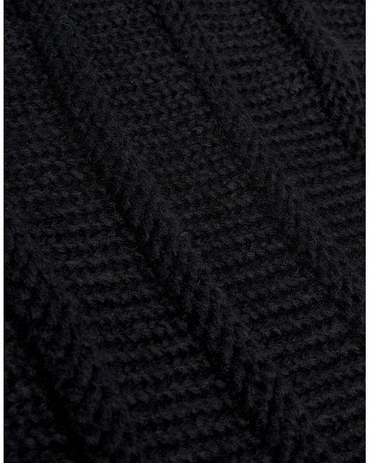 Шарф-Снуд Asos                                                                                                              чёрный цвет