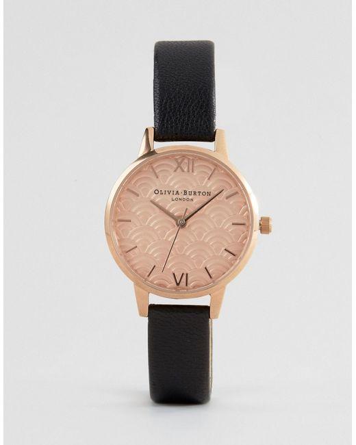 Золотисто-Розовые Часы С Отделкой Ob15md59 Olivia Burton                                                                                                              None цвет