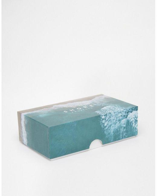 Часы С Парусиновым Ремешком Shore Projects                                                                                                              синий цвет