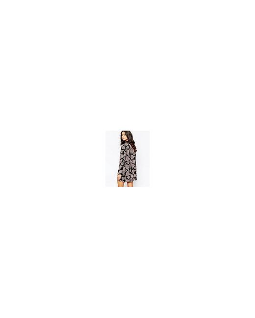 Свободное Платье С Принтом Пейсли И Бантом Milk It                                                                                                              многоцветный цвет