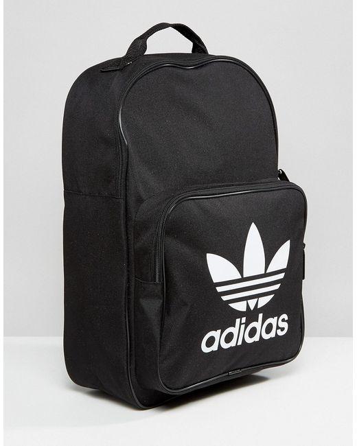 7aa3ffa674f3 ... Рюкзак С Логотипом В Виде Трилистника Originals Adidas чёрный ...