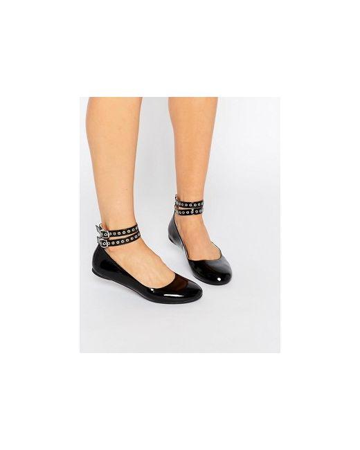 Черные Туфли На Плоской Подошве Daisy Street                                                                                                              None цвет