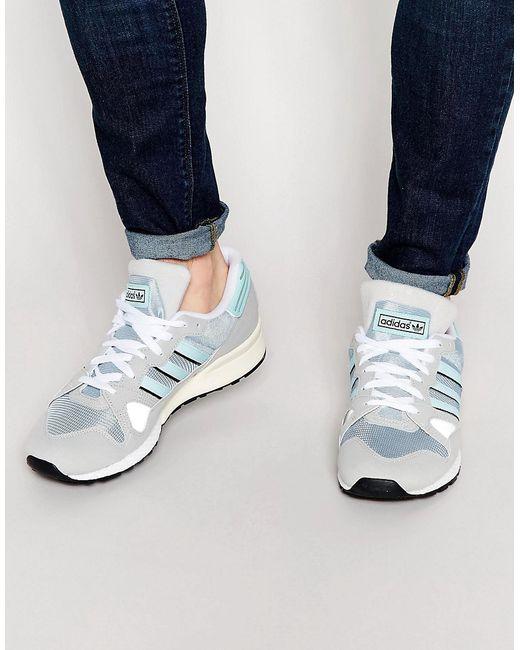 Кроссовки Zx 710 adidas Originals                                                                                                              серый цвет