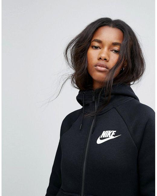 Худи На Молнии Rally Nike                                                                                                              чёрный цвет