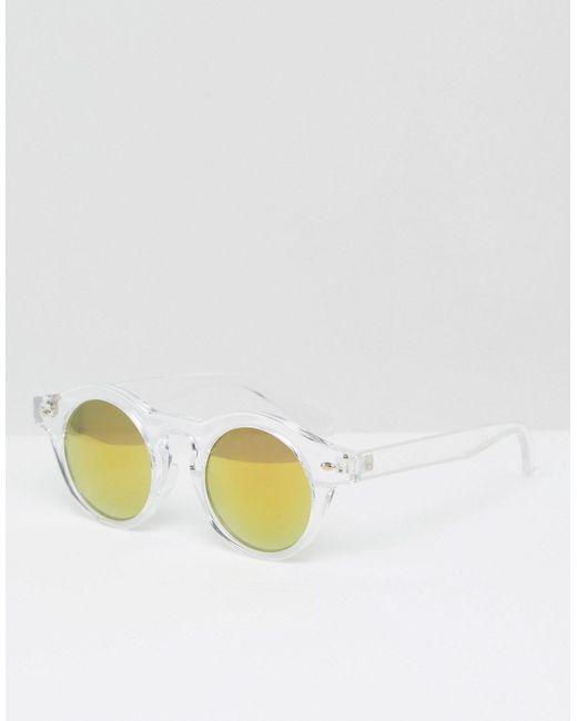Круглые Солнцезащитные Очки С Зеркальными Линзами Trip                                                                                                              None цвет