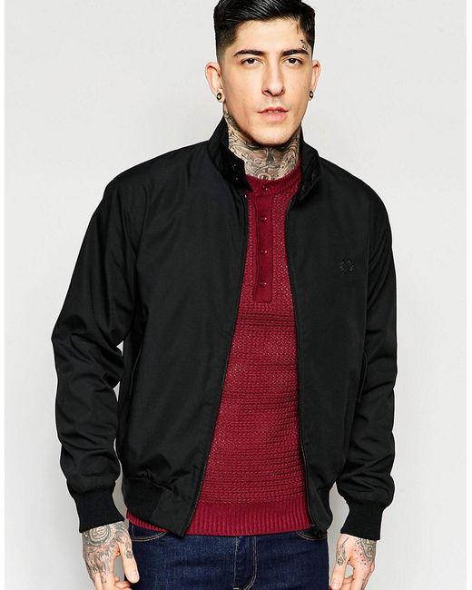 Куртка Харрингтон Производство Англии Черный Fred Perry Laurel Wreath                                                                                                              чёрный цвет