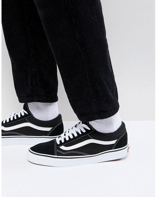 Мужские Чёрные Черные Кроссовки Old Skool Vd3hy28 Vans 7261760 6b2b171d358cb