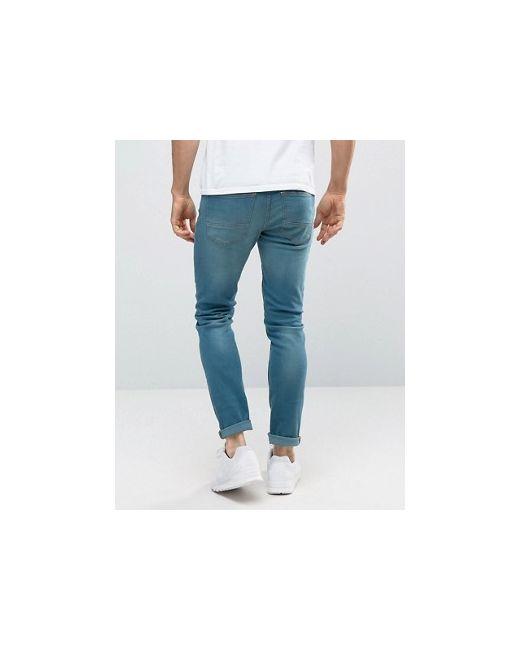 Супероблегающие Джинсы Burton Menswear                                                                                                              синий цвет