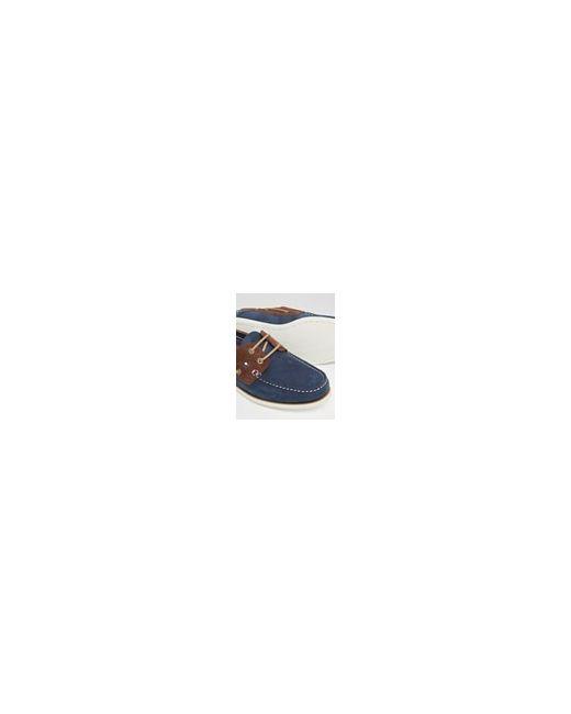 Мокасины Из Нубука Синий Tommy Hilfiger                                                                                                              синий цвет