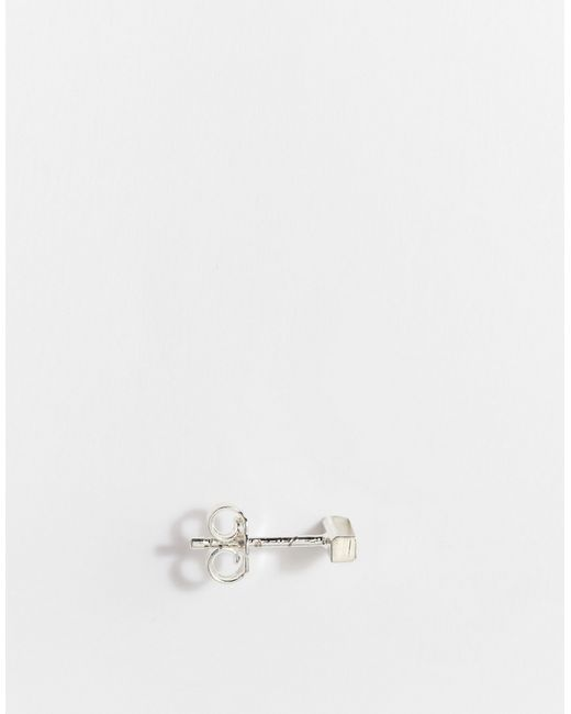 Серьги-Планки Stella & Bow                                                                                                              Серебряный цвет