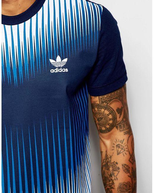 Mezcla T-Shirt Ao2831 adidas Originals                                                                                                              синий цвет