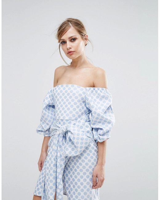 Платье Second Take ASILIO                                                                                                              синий цвет