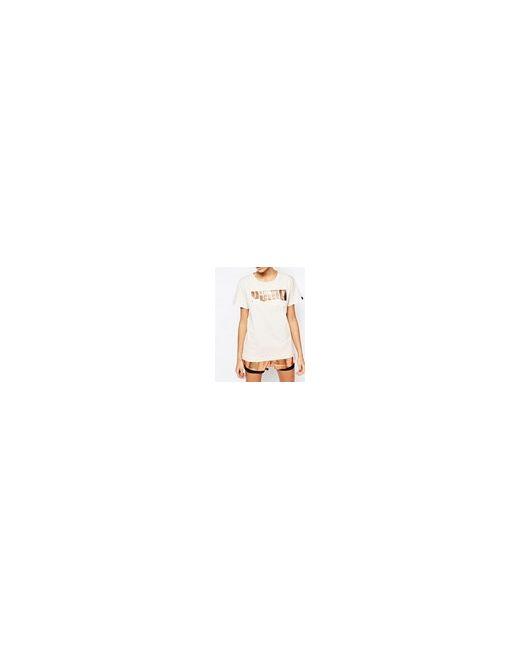 Oversize-Футболка Бойфренда С Розовозолотистым Логотипом Телесный Puma                                                                                                              Телесный цвет