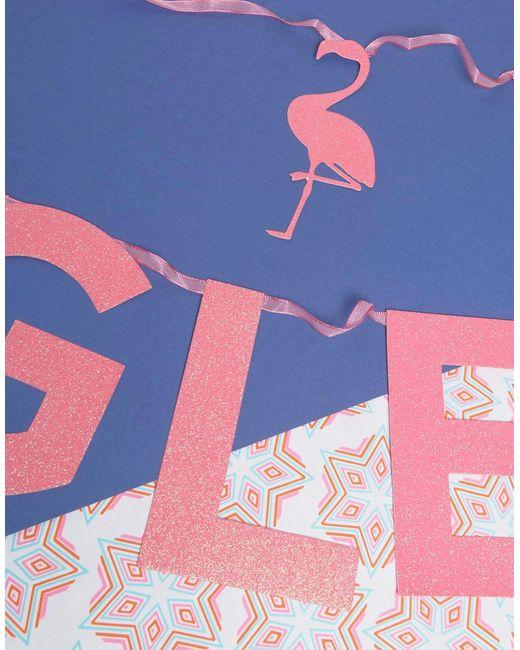 Баннер Lets Flamingle Talking Tables                                                                                                              многоцветный цвет