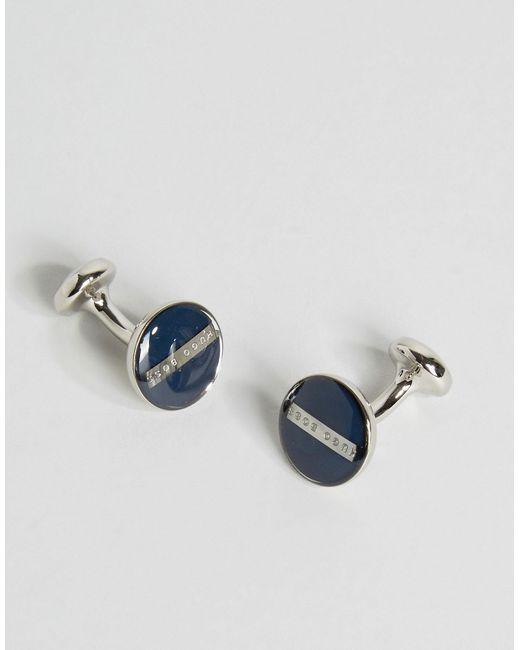 Темно-Синие Запонки Norberto Темно-Синий Hugo                                                                                                              синий цвет