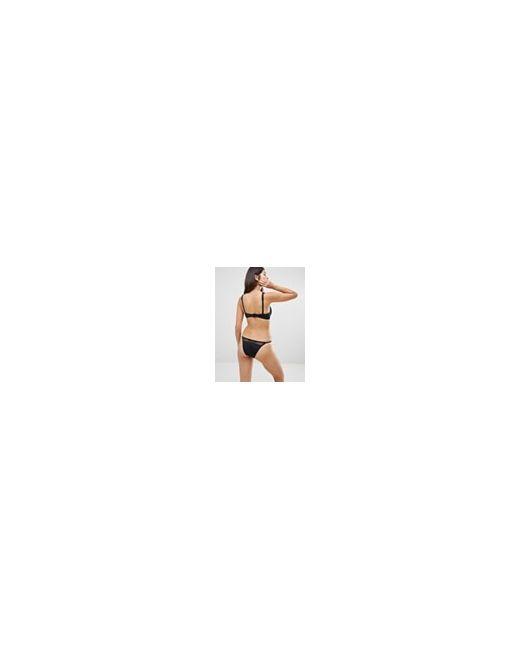 Fuller Bust Exclusive Fishnet Overlay Plunge Bikini Asos                                                                                                              None цвет