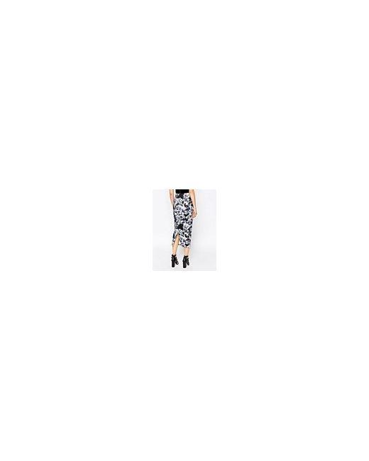 Юбка Миди С Волнистым Принтом Цветочный Принт/Серый Motel                                                                                                              цветочный цвет