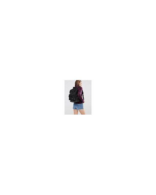 Эксклюзивный Рюкзак С Кожаным Дном Wyoming Black Eastpak                                                                                                              чёрный цвет