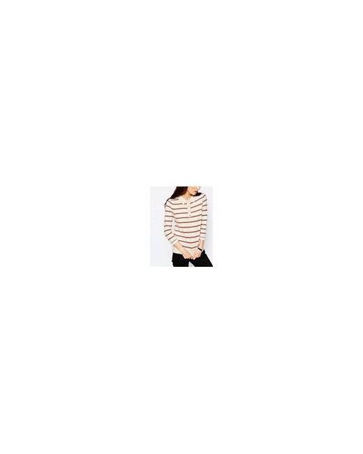 Полосатый Джемпер С Воротником-Поло Мульти Asos                                                                                                              многоцветный цвет
