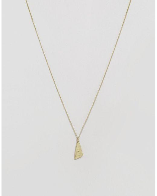 Ожерелье Caia Золотой Selected Femme                                                                                                              золотой цвет