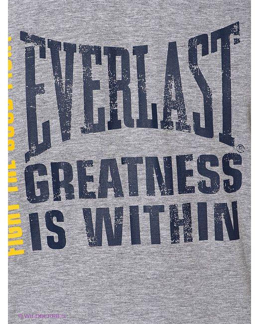 Футболка Everlast                                                                                                              синий цвет