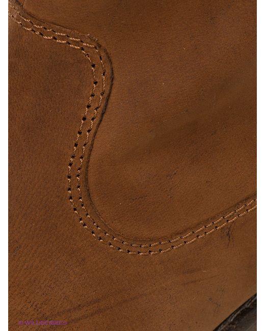 Полусапожки s.Oliver                                                                                                              коричневый цвет