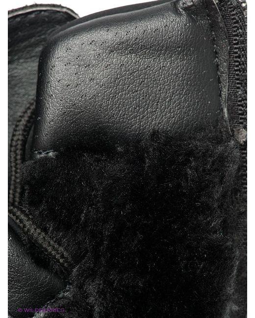 Ботинки Keddo                                                                                                              чёрный цвет