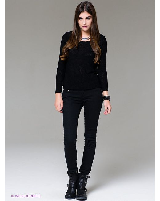 Джемперы FOREVER18                                                                                                              чёрный цвет