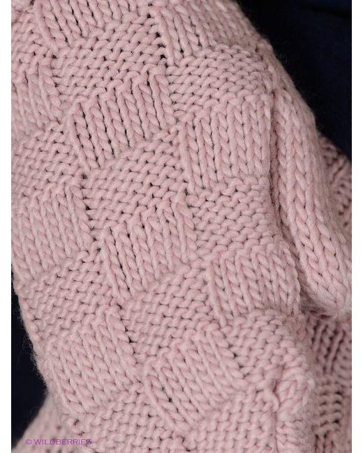 Варежки Moodo                                                                                                              розовый цвет