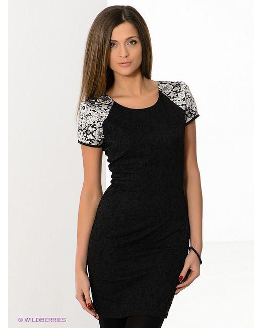 Платья FRENCH HINT                                                                                                              чёрный цвет