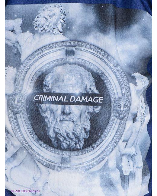 Джемперы Criminal Damage                                                                                                              синий цвет
