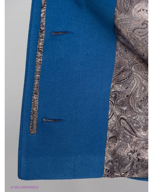 Пальто Klimini                                                                                                              синий цвет
