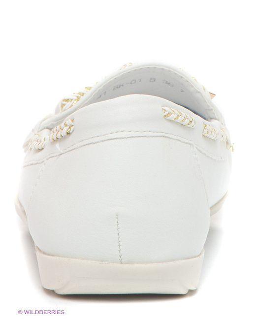 Туфли Wilmar                                                                                                              белый цвет