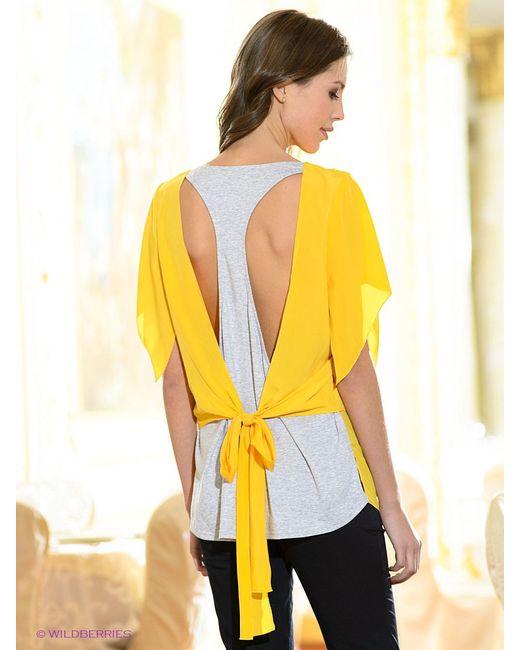 Блузки Mondigo                                                                                                              желтый цвет