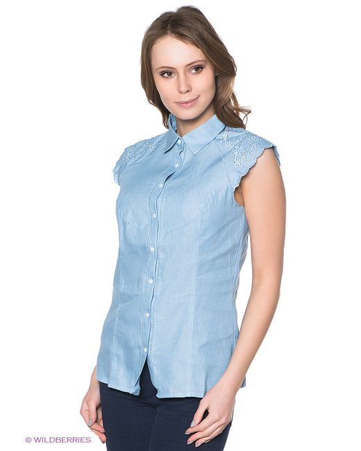 Блузки Neohit                                                                                                              голубой цвет