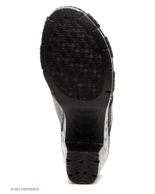 Сабо Best Walk                                                                                                              чёрный цвет