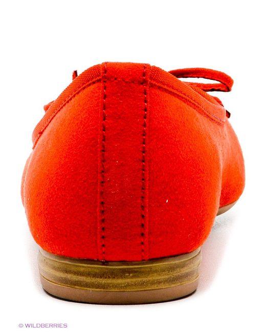 Балетки Marco Tozzi                                                                                                              оранжевый цвет