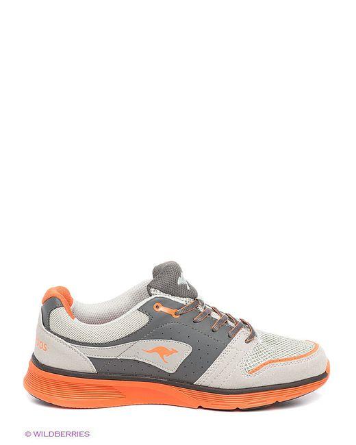 Кроссовки KangaROOS                                                                                                              оранжевый цвет