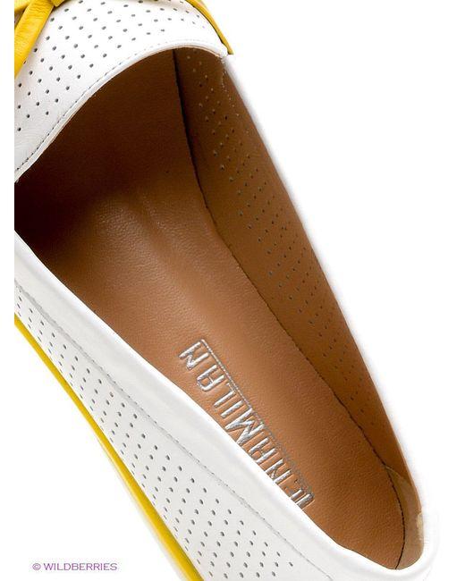 Туфли Lena Milan                                                                                                              белый цвет