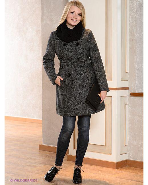 Пальто La Reine Blanche                                                                                                              чёрный цвет