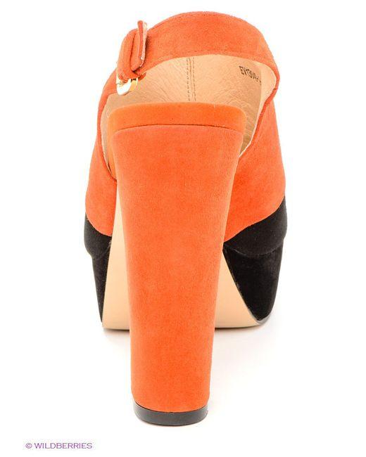 Босоножки Evita                                                                                                              оранжевый цвет